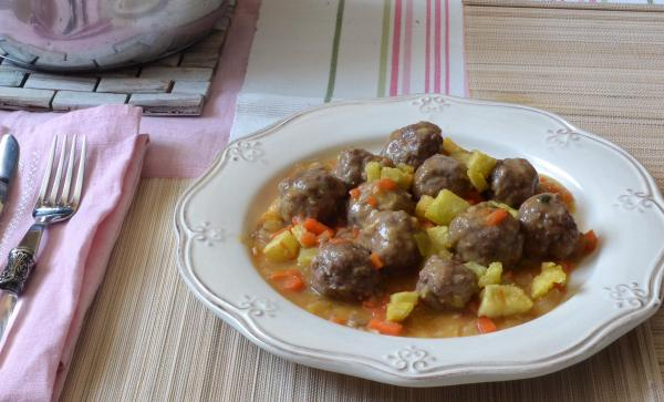 Albóndigas de carne